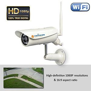 riVision NC-336PW HD 1080P Wireless Outdoor Home Security Camera
