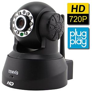 TENVIS JPT3815W-HD Wireless Surveillance IP Network Security Camera