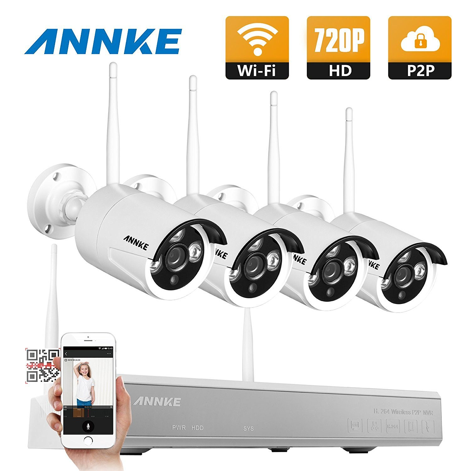 best wireless security camera systems with night vision guide reviews. Black Bedroom Furniture Sets. Home Design Ideas