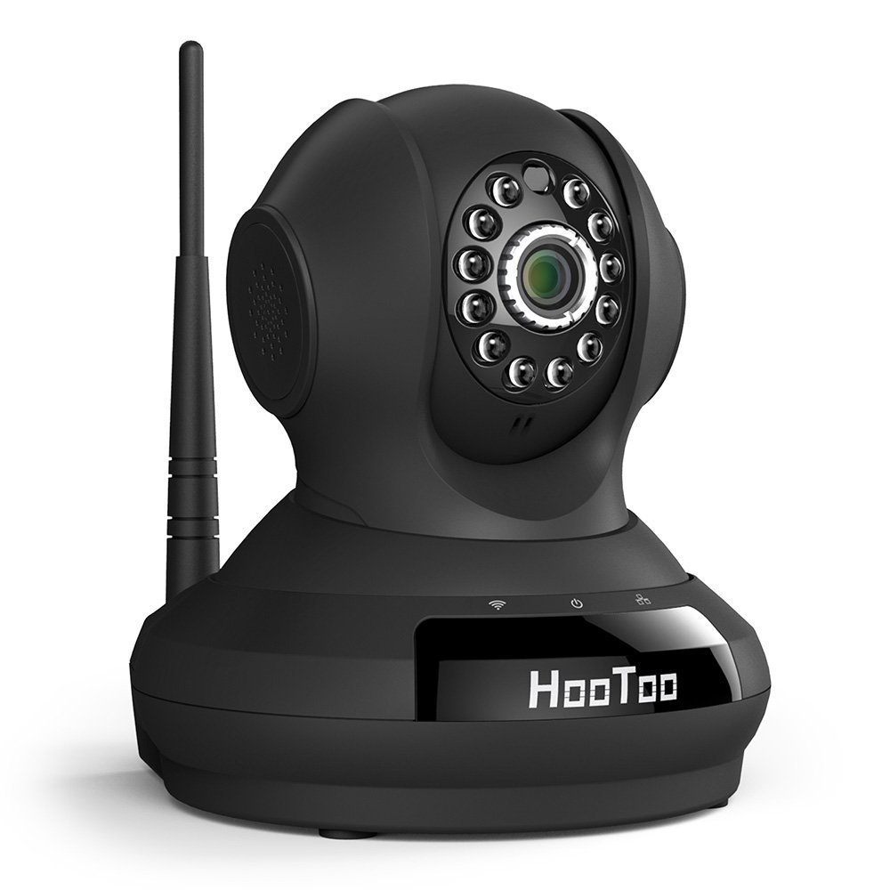 HooToo Security Camera with HD Video Streaming, Surveillance WiFi IP Camera