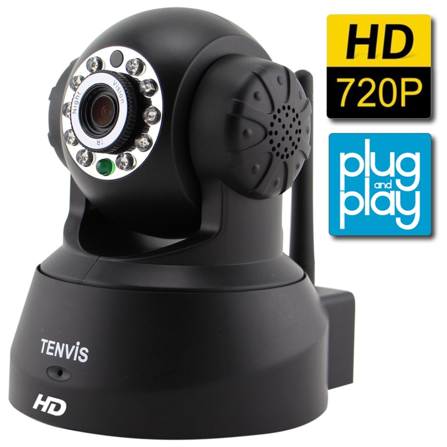 TENVIS JPT3815W-HD Wireless Surveillance IP/Network Security Camera
