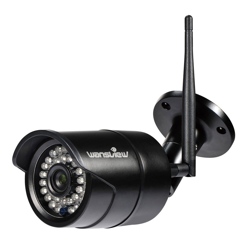 Wansview Outdoor 720P WiFi Wireless IP Security Bullet Camera