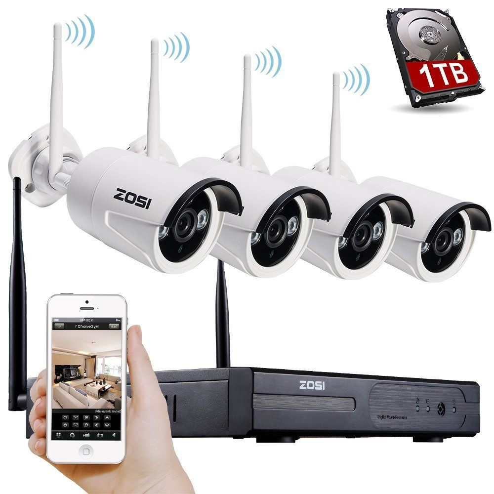 Best Wireless Security Camera Systems With Night Vision - Guide ...
