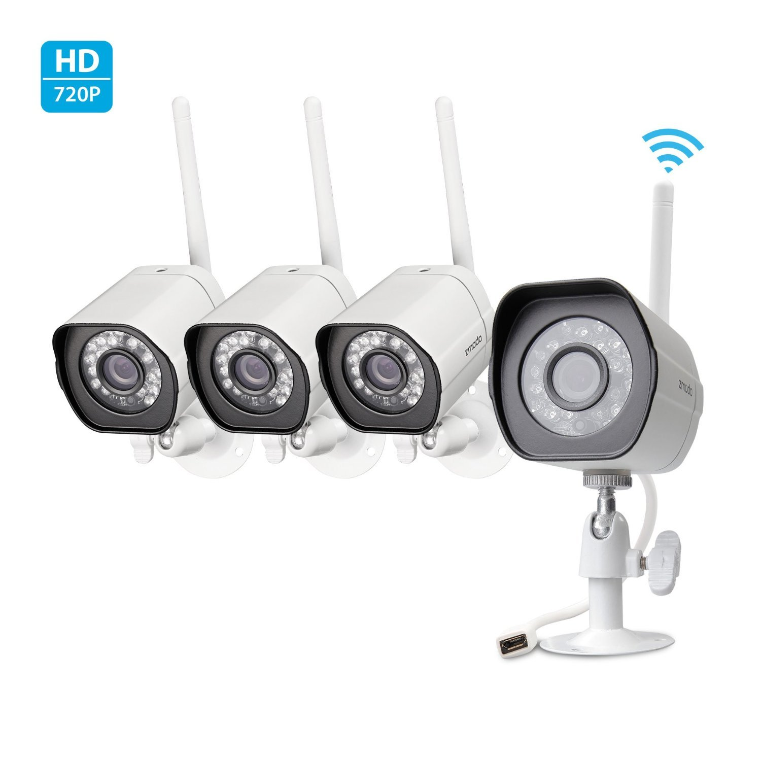 Best Wireless Security Camera Systems With Night Vision - Guide & Reviews