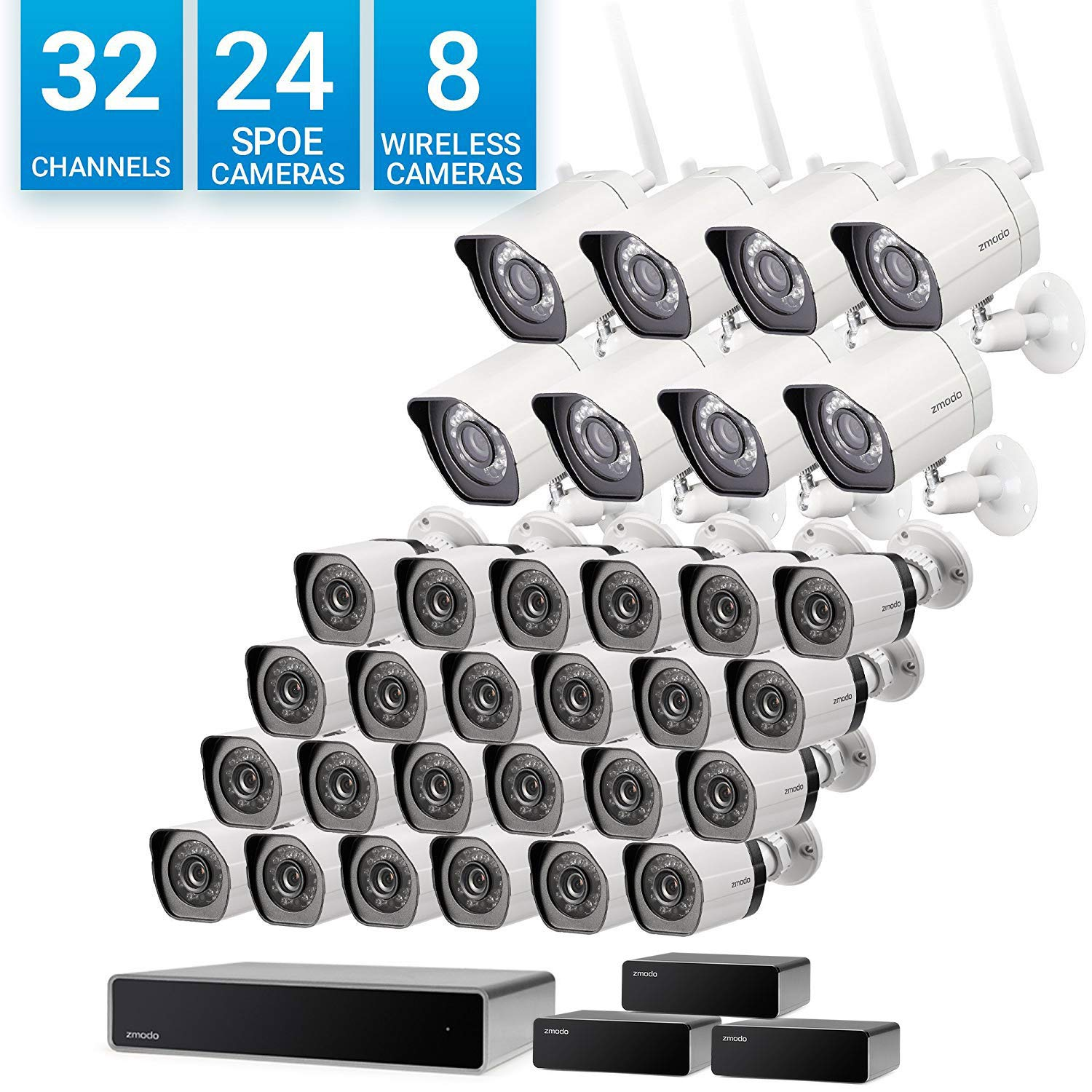 Zmodo 32 Channel 1080p Network Surveillance NVR
