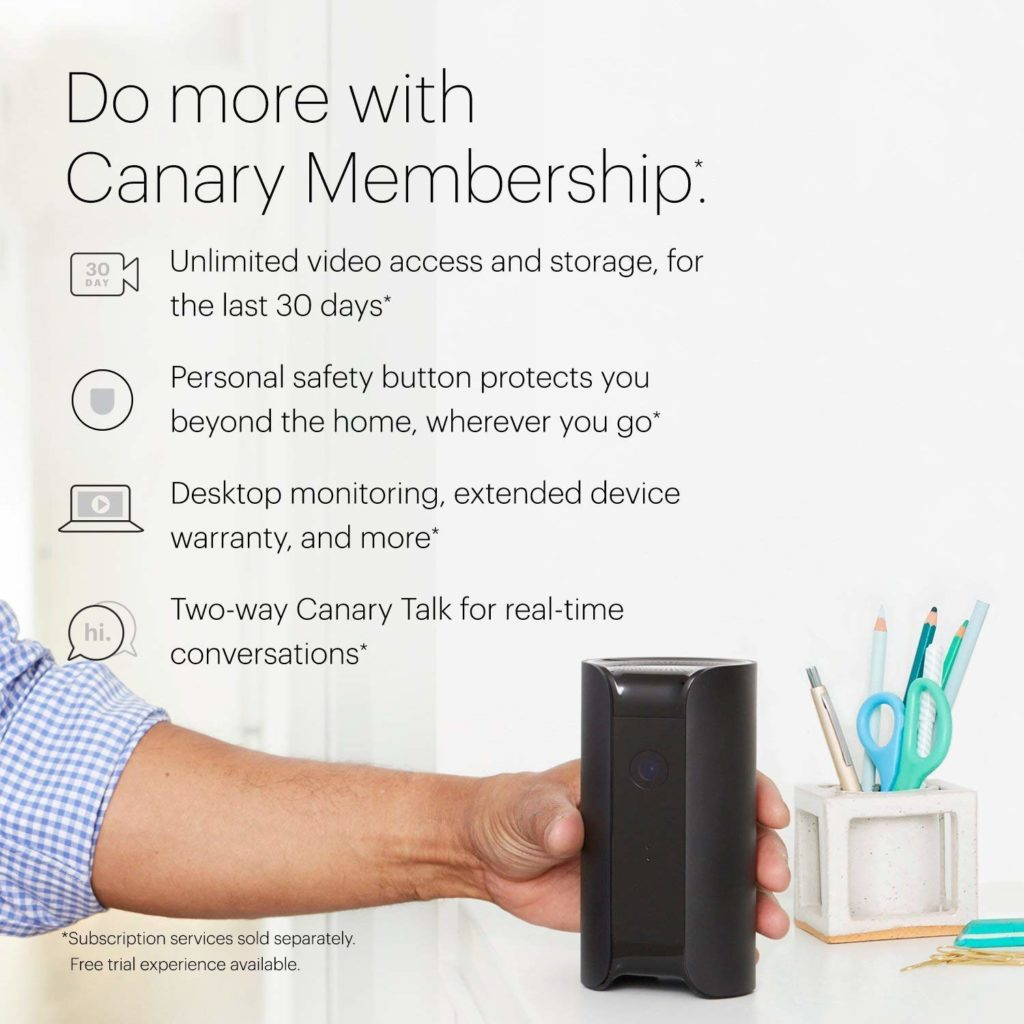 Canary Pro All in One Features