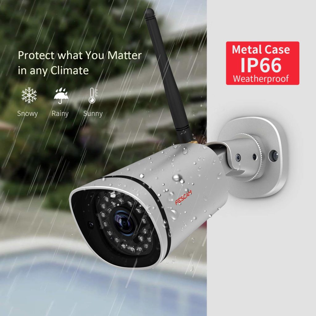 Foscam HD 1080P Outdoor WiFi Security Camera setup