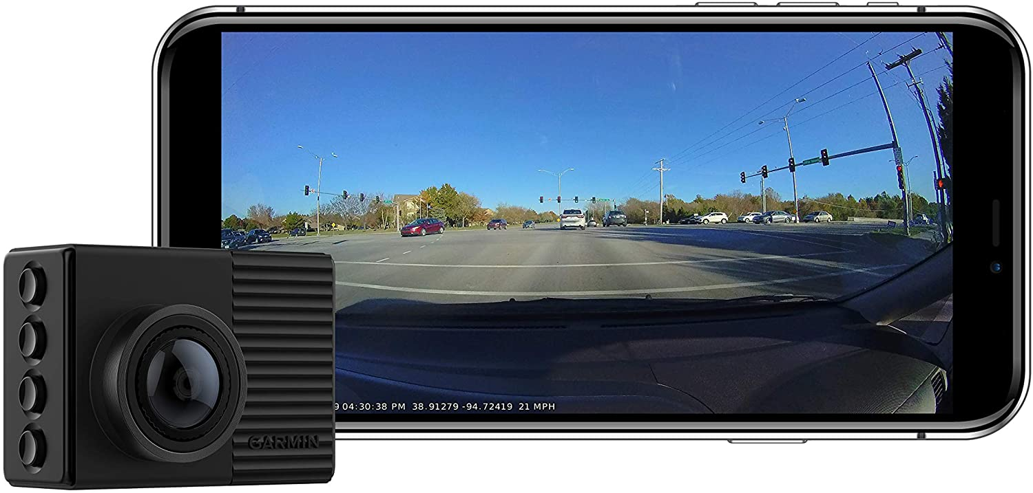 Garmin 66w trucker dash cam