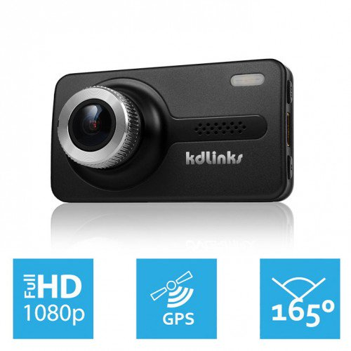 KDLINKS-X1 FullHD Dashboard Camera Recorder